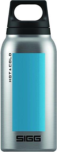 Image of Sigg Hot & Cold Accent Aqua, Vakuum-Isolierte Thermo-Flasche aus Edelstahl, 0.3 L, BPA Frei, Blau