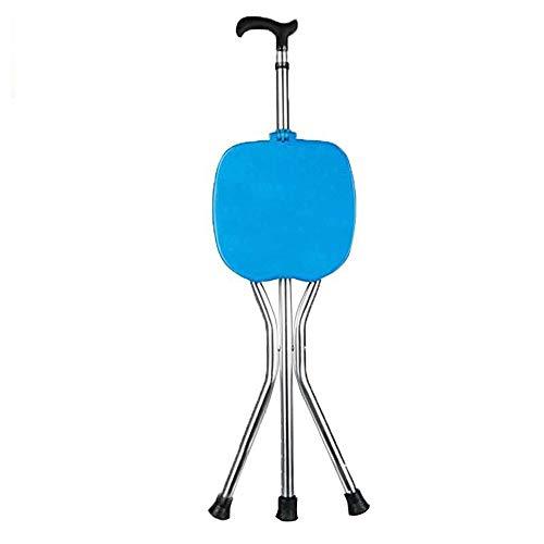 Einstellbare Klapp Cane Stuhl Massage Cane Sitz Anti-Rutsch-Dreibein Cane Hocker Walker Portable Geeignet Für Ältere Menschen Reisen -