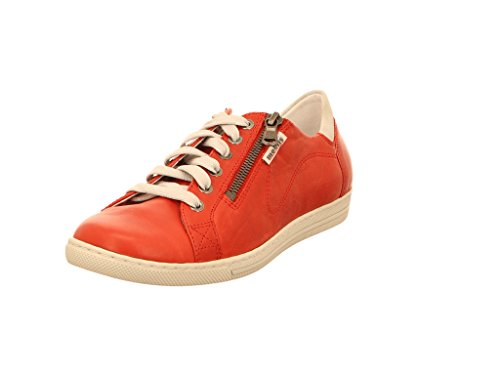 MOBILS - Hawai - Baskets Mode - Femme - Semelle Amovible : Oui - Rouge - Taille 7 UK