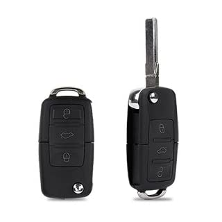 SurePromise 3 Button Remote Flip Key Fob Shell Case With Uncut blade New