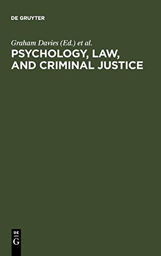 Psychology, Law, and Criminal Justice: International Developments in Research and Practice - Rechtliche Tabs