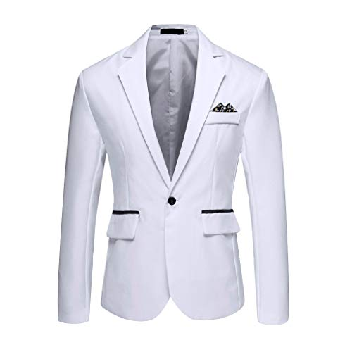 - Weißes Dinner Jacket Kostüm