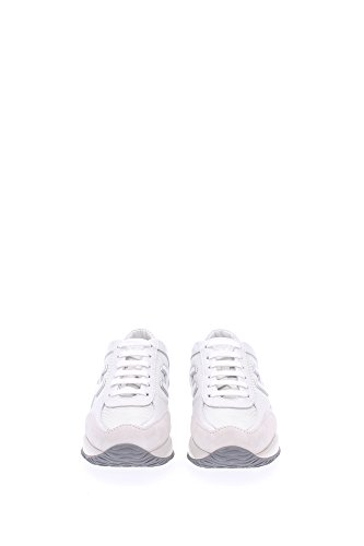 HXW00N032428399999 Hogan Sneakers Damen Stoff Weiß Weiß