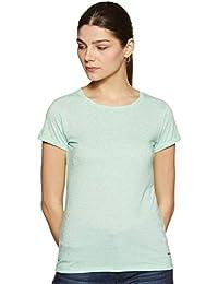 Pepe Jeans Women's Plain Slim fit T-Shirt