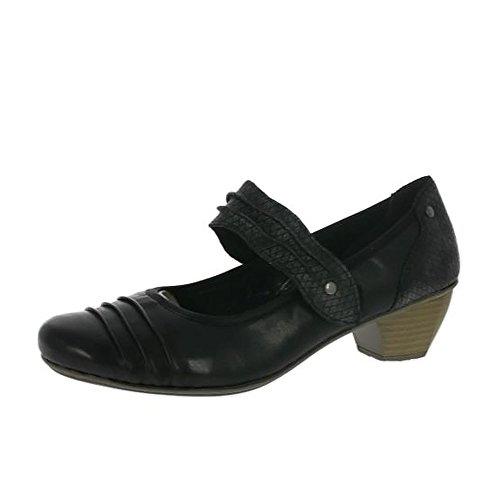 Womens Shoes Rieker Cour Noir Stade Fq6wAxgnHS