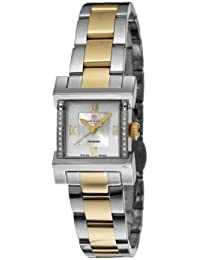 Christina Design London Damen-Armbanduhr Wave Analog Zweifarbig 142BW