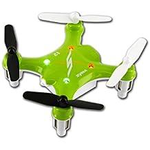 Syma X12 Nano 6-Axis Gyro RC Quadcopter Mini Drone RTF UFO Aircraft, Color Green