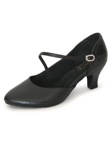 Roch Valley RV801 Chaussures de danse fermées forme large Noir