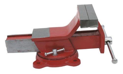Cogex 64356 Etau en acier avec enclume à base tournante.