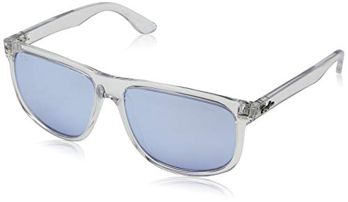 RAYBAN JUNIOR Herren Sonnenbrille RB4147, Transparent/Blueflashsilver, 60