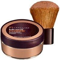 Maybelline New York Pure Sun Mineral Bronzing Shimmer Powder Sunkissed 02 / Bräunungspuder in einem Braunton, für eine strahlende Bräune im Gesicht, 1 x 8 g - Mineral Bronzing Powder