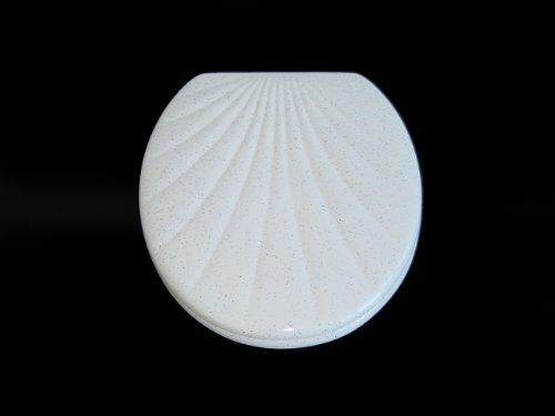 ADOB WC Sitz Klobrille Muschelform Duroplast, granit, 14805