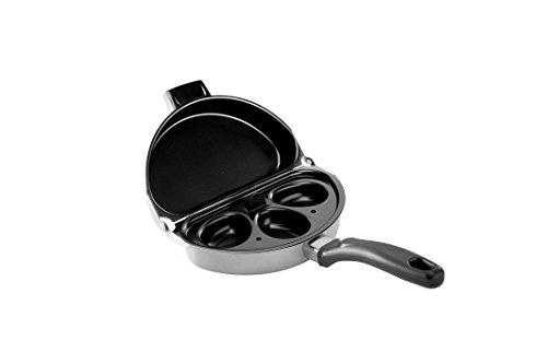 Nordic Ware Texas-Pfanne, 30,5 cm, mit Hilfsgriff Omelet Pan & Poacher 9.5 Inch schwarz Nordic Ware Egg