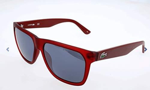 Lacoste Unisex-Erwachsene L732S Sonnenbrille, Rot, 56
