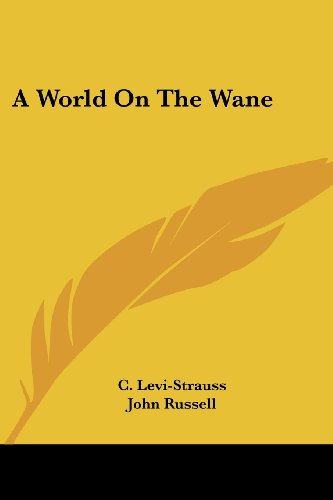 A World on the Wane