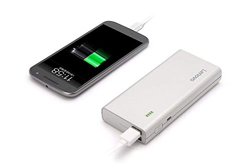 Lenovo PA13000 13000 mAh Power Bank (Silver)