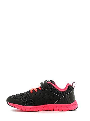 Lotto Spacerun Ii Cl Sl, Chaussures de Running Mixte Bébé Noir (Blk / Crl Div)