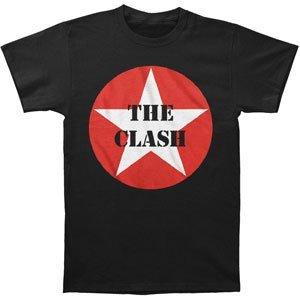 FEA Merchandising - Camiseta - Hombre de color Negro de talla Medium - Clash Star Logo (Camiseta)-medium