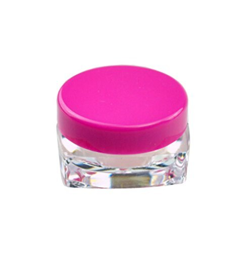 topwel-25pcs-3-gram-new-empty-clear-square-plastic-screw-cap-lid-with-clear-base-empty-plastic-conta