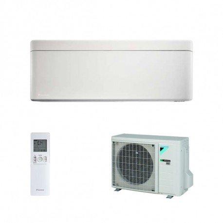 Climatiseur 9000BTU Inverter Pompe de chaleur à + + +/A + + + unité intérieure + Unité extérieure Blanc