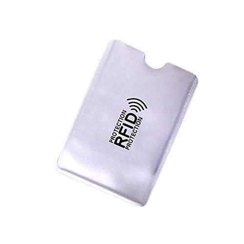 Protege tu tarjeta de identificación, tarjeta de crédito y tarjeta de banda, etc. Antiarañazos, antiestático y antimagnético. Evita que los extraños lean tu tarjeta. Evitar el escaneo no autorizado de tu tarjeta. Nombre del artículo: tarjetero. Ma...