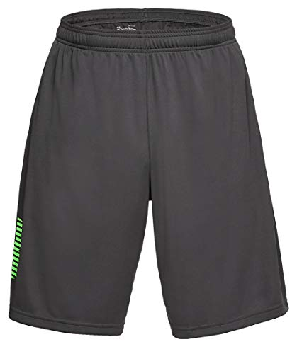Under Armour Herren UA Tech Graphic Short Nov Kurze Hose, Grau, LG