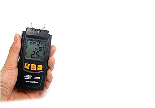 Preisvergleich Produktbild Feuchtemesser Nadelholzfeuchte Tester Calibrator messen