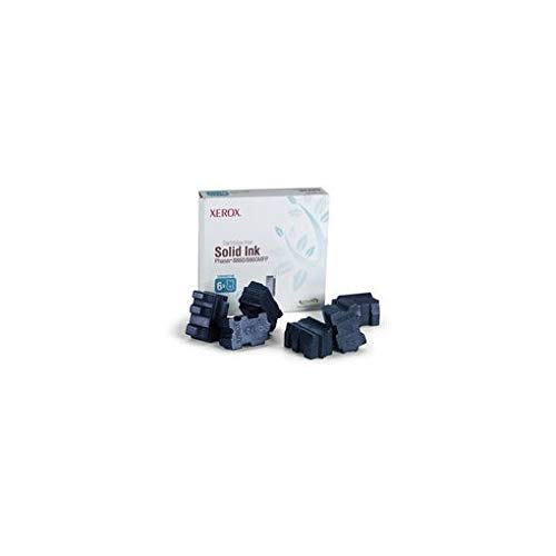 Cyan 6 Sticks (Xerox Genuine SOLID Ink, Cyan 8860W (6 Sticks), 108R00817 (8860W (6 Sticks)))