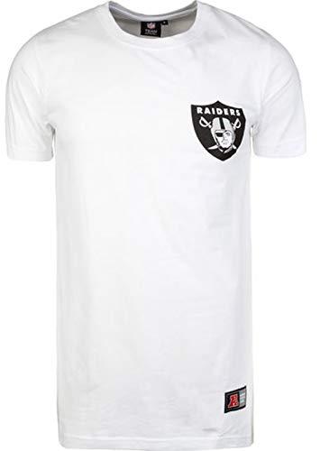 Fanatics Herren NFL Oakland Raiders Longline T-Shirt, weiß, XL