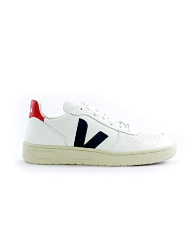 VEJA - Baskets V10 Leather Taille - 44, Couleur - White Nautico