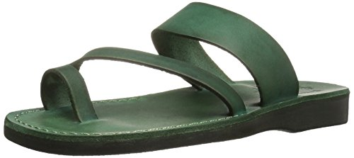 Jerusalem Sandals Damen Zohar Gummi, grün, 39 EU
