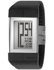 Philippe Starck ph1112 PH1112 - Reloj , correa de plástico color negro