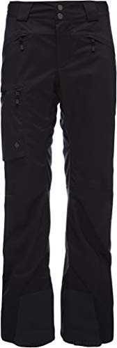 Black Diamond Boundary Line Damen Hose isoliert, Unisex-Erwachsene, schwarz, Large (Line-isolierte Hose)