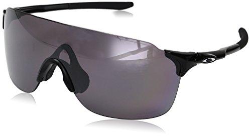 Oakley Herren Evzero Stride 938606 38 Sonnenbrille, Schwarz (Polished Black/Prizmdailypolarized),