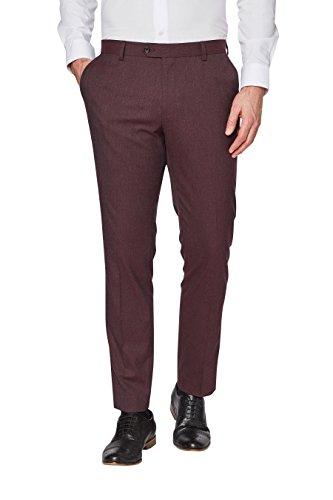 next Pantalon de smoking Standard Homme Bordeaux