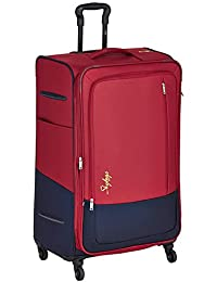Skybags Romeo Polyester 79 cms Red Softsided Check-in Luggage (STROM78ERED)