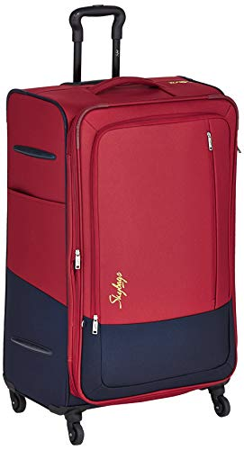 e227b89e0a6 Skybags Polyester 79 cms Red Softsided Check-in Luggage (STROM78ERED ...