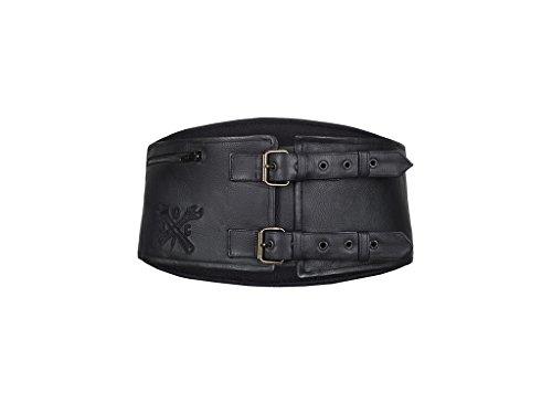 John Doe Classical Kidney Belt Leder Nierengurt, L-XL -