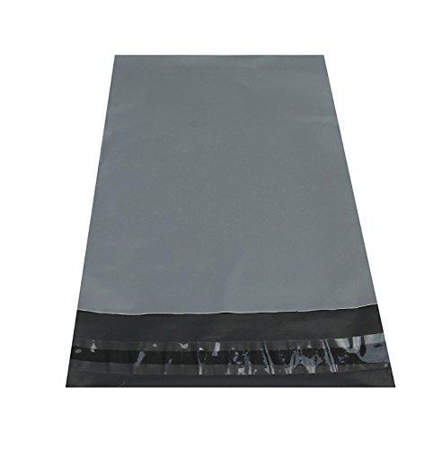 Versandtaschen, groß, 425 mm x 600 mm, Grau, 25 Stück (Große Mailing-taschen)