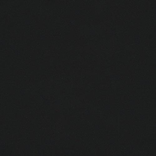 MIRABLAU DESIGN Stoffverkauf Baumwolle Twill in schwarz einfarbig Hosenstoff (1-107M), 0,5m (Twill Rock Baumwoll)