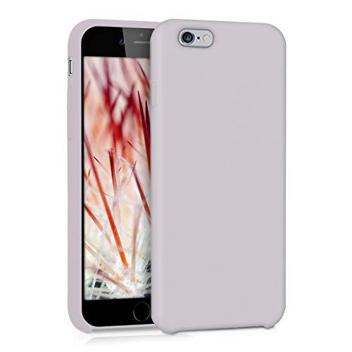 kwmobile Apple iPhone 6 / 6S Hülle - Handyhülle für Apple iPhone 6 / 6S - Handy Case in Helltaupe