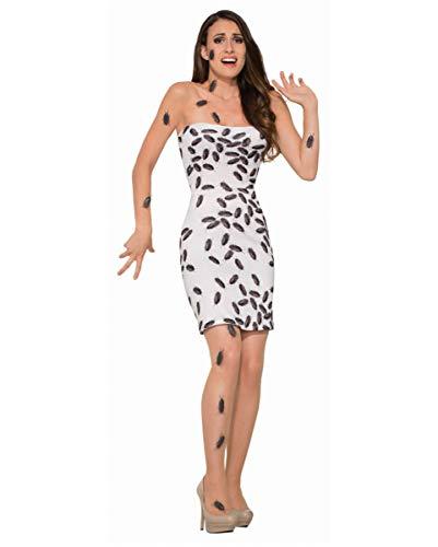 Fette Kostüm Für Damen - Horror-Shop Kakerlaken Angriff Halloween Kostüm für Damen S/M 36-38