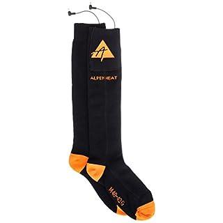 Alpenheat Fire-Sock Light beheizte Socken 2er Set, AJ18, Größe Medium (40-42)