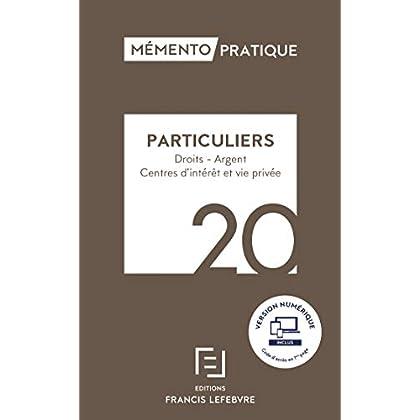 Mémento Particuliers 2020