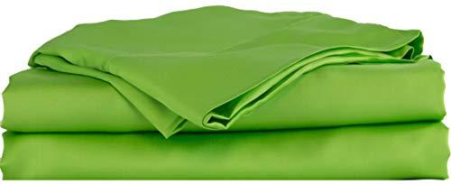 Hotel Sheets Direct Bettwäsche-Set aus 100% Viskose aus Bambus Full grün (Hotel-bettwäsche-full Set)