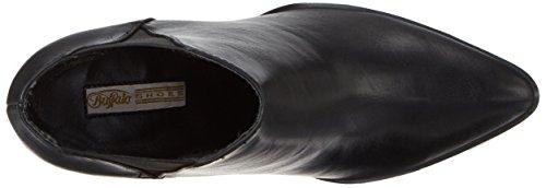 Buffalo Damen B006a-310 P1735a Pu Chelsea Boots Schwarz (Black 01)