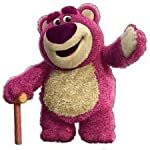 Disney, Toy story 3, Lotsos gang figure, Lotso as cake topper