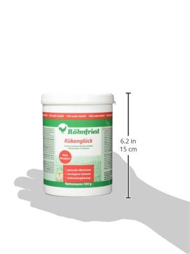 Röhnfried Kükenglück Aufzuchtpräparat (550 g), Kükenfutter mit Vitaminen als Pulver, Aufzuchtfutter für Hühner, Enten, Gänse, Truthühner & Geflügel - 7