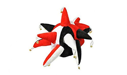 Flagmania® Kostümmmütze, Rot/Schwarz/Weiß, 59 mm ()