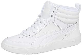 Puma Unisex Adults Rebound Street V2 L Low-Top Sneakers, White (Puma White-puma White), 8.5 UK (B071FD7DRZ) | Amazon price tracker / tracking, Amazon price history charts, Amazon price watches, Amazon price drop alerts
